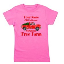 Custom Tree Farm Girl's Tee