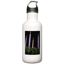 Lit candles Water Bottle