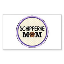 Schipperke Dog Mom Decal