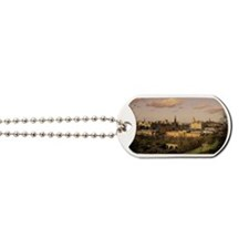 OVERVIEW OF EDINBURGH, SCOTLAND Dog Tags