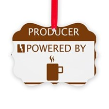 Producer Powered by Coffee Ornament