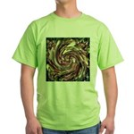 K9 Flower #6 Green T-Shirt