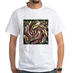 K9 Flower #6 White T-Shirt