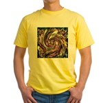 K9 Flower #6 Yellow T-Shirt