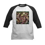 K9 Flower #6 Kids Baseball Jersey
