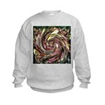 K9 Flower #6 Kids Sweatshirt