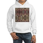K9 Totem Carpet #4 Hooded Sweatshirt