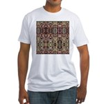 K9 Totem Carpet #4 Fitted T-Shirt