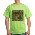 K9 Totem Carpet #4 Green T-Shirt
