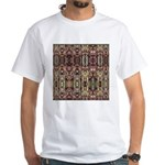 K9 Totem Carpet #4 White T-Shirt