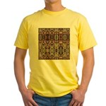 K9 Totem Carpet #4 Yellow T-Shirt