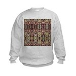 K9 Totem Carpet #4 Kids Sweatshirt