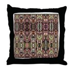 K9 Totem Carpet #4 Throw Pillow
