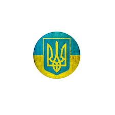 Vintage Ukraine Mini Button