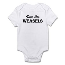 Save the WEASELS Infant Bodysuit