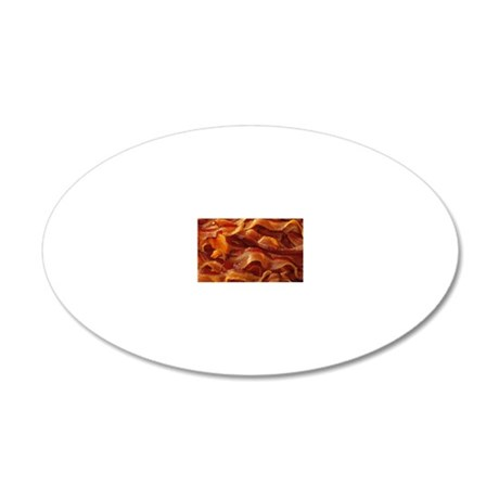 Bacon 20x12 Oval Wall Decal