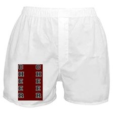 Cheer Red and black Boxer Shorts