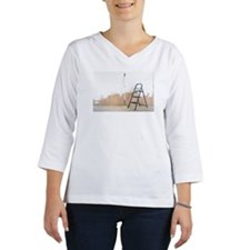 Paint brushes, paint roller, st Women's Long Sleeve Shirt (3/4 Sleeve)