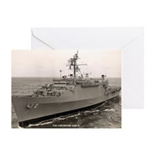 uss vancouver large framed print Greeting Card