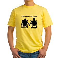 Custom Couple Relaxing T-Shirt