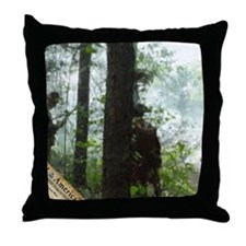 Rebels Awaiting Redcoats Throw Pillow