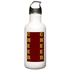 Cheer Red and Yellow Water Bottle