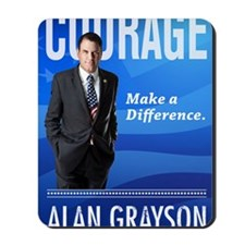 Courage: Make a Difference. Mousepad