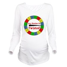 Twisted Leg Stories Long Sleeve Maternity T-Shirt