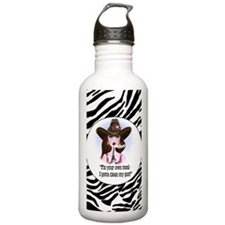 diva of a cowgirl Water Bottle