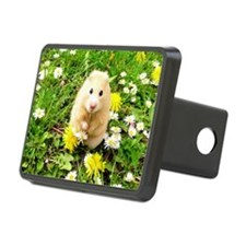 Golden syrian hamster on a Hitch Cover