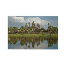 Siem Reap, Cambodia - Angkor Wat Rectangle Magnet