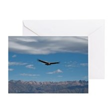 Cruz del Condor Lookout, Peru Greeting Card