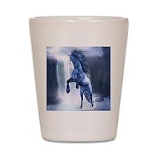 A Blue Unicorn 2 Shot Glass