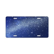 Stars in the sky Aluminum License Plate