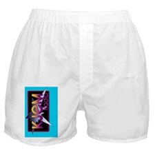 kindle sleeve aqua logo Boxer Shorts