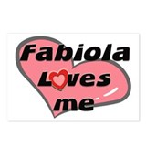 fabiola loves me  Postcards (Package of 8)