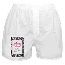 Diva of a Nurse! Boxer Shorts
