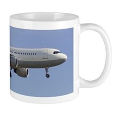A plane coming into land Mug