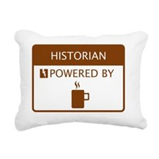Historian Powered by Cof Rectangular Canvas Pillow