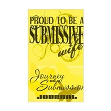 Proudly Submissive (Yellow) Decal