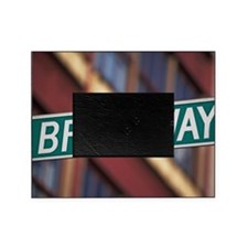 Broadway Street sign Picture Frame