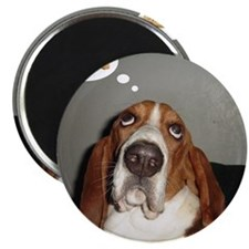 Basset thoughts Magnet