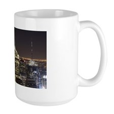 New York City skyline at night Mug
