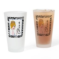 Martini Diva Drinking Glass