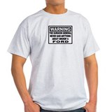 WARNING Ford T-Shirt