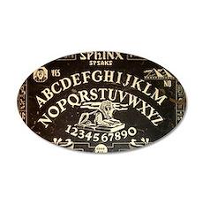 Vintage Sphinx Ouija Board 35x21 Oval Wall Decal