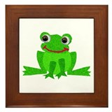 Little Froggy Framed Tile