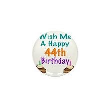 Happy 44th Birthday Button Happy 44th Birthday Buttons Happy 44 Birthday Wishes
