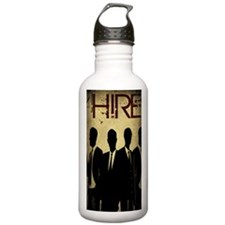 4Hire Graphic Poster w Water Bottle