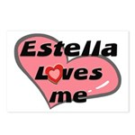 estella loves me  Postcards (Package of 8)